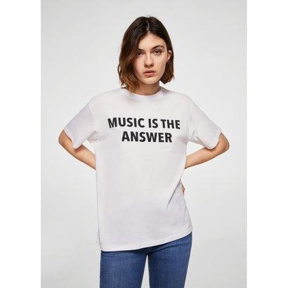 Tシャツ .-- ANSWER (ホワイト)