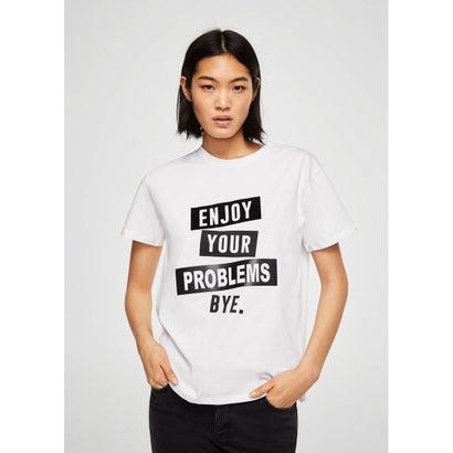 Tシャツ .-- PROBLEM (ホワイト)