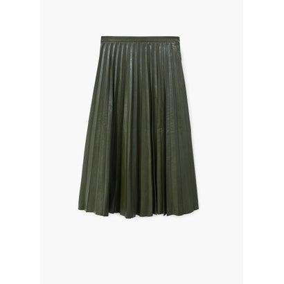 スカート .-- PLEC (ベージュ-カーキ)