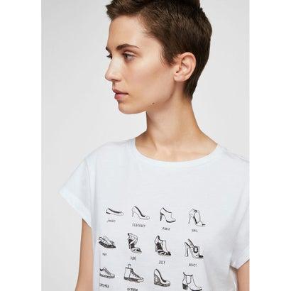 Tシャツ .-- ILUSTRA (ナチュラルホワイト)