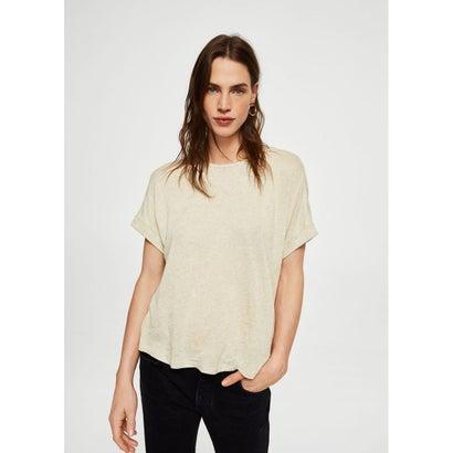 Tシャツ .-- SILVITIS (パステルブラウン)