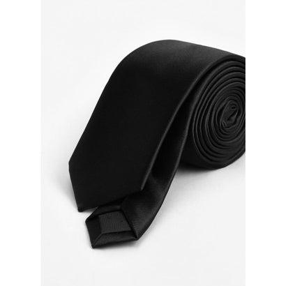 ネクタイ . PLAIN (ブラック)