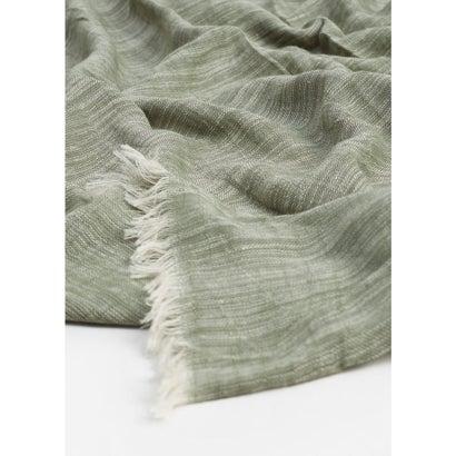 スカーフ . LISO8  (ミディアムグリーン)