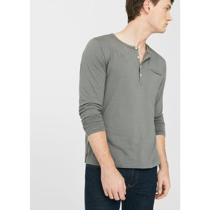 T-シャツ . OLIVER  (ミディアムグレー)