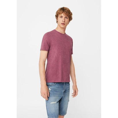 Tシャツ .-- CLASSY (ダークレッド)