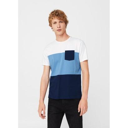 Tシャツ .-- MOOD-H (ネイビーブルー)