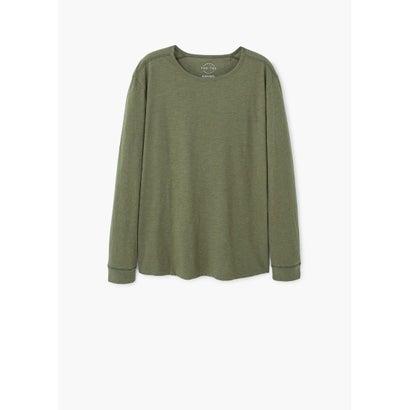 Tシャツ .-- GARETH (ベージュ-カーキ)