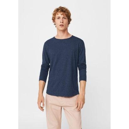 Tシャツ .-- GARETH (ミディアムブルー)