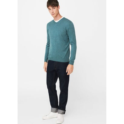 セーター .-- TEN (ターコイズブルー)
