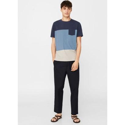 Tシャツ .-- GARDE (ミディアムブルー)