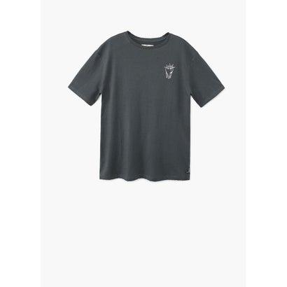 Tシャツ .-- SOLERB (チャコール)