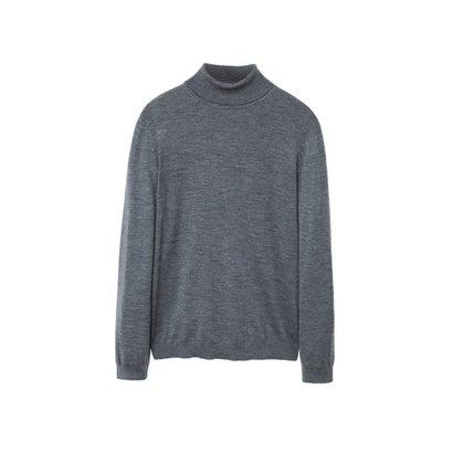 セーター .-- WILLOWT (ミディアムグレー)