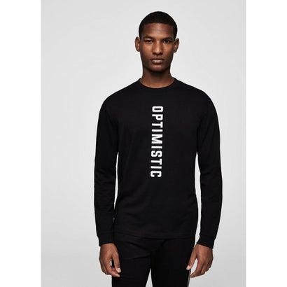 Tシャツ .-- OPTIM (ブラック)