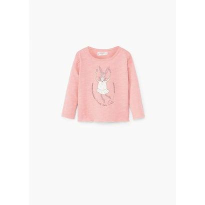 ベビー T-シャツ . ELENA (ミディアムピンク)