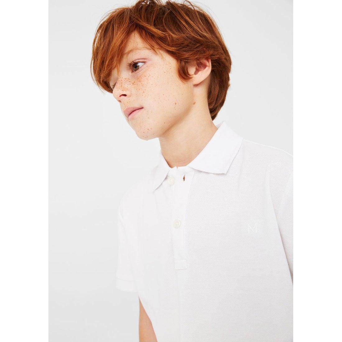 【SALE 30%OFF】ポロ シャツ . ポロ (ホワイト) 子供・キッズ MANGO