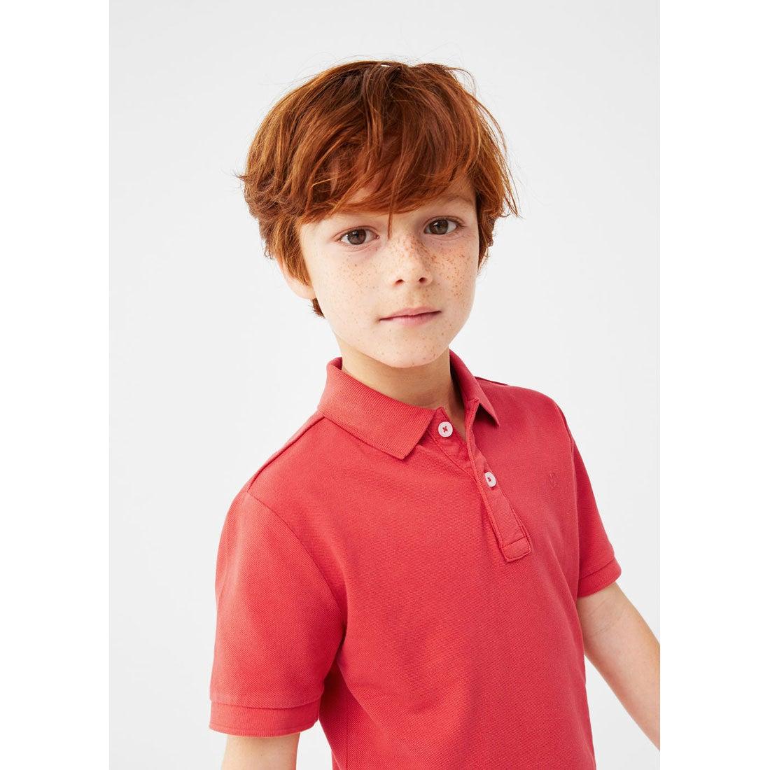 【SALE 35%OFF】ポロ シャツ . ポロ (ブライトレッド) 子供・キッズ MANGO