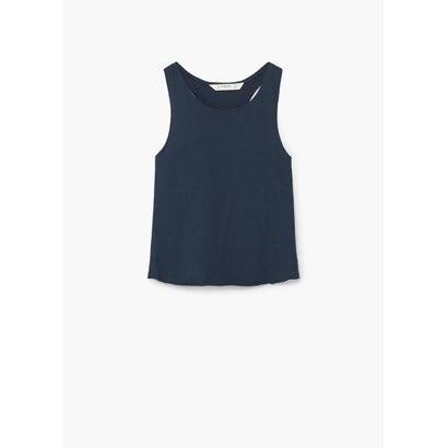 Tシャツ .-- TANK8 (ネイビー)
