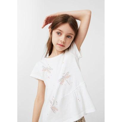 Tシャツ .-- MALIKA (ホワイト)