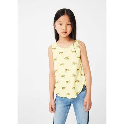Tシャツ .-- TANKGLIT (ミディアムイエロー)