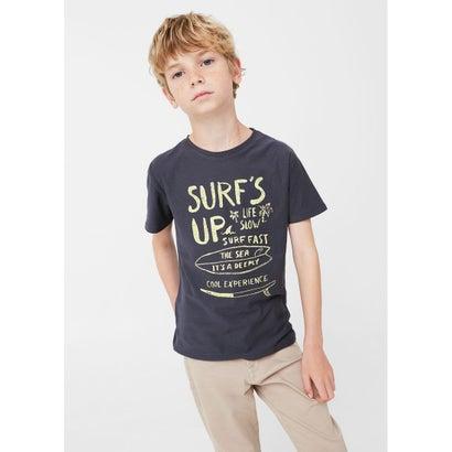 Tシャツ .-- ATTACK (ブルー)