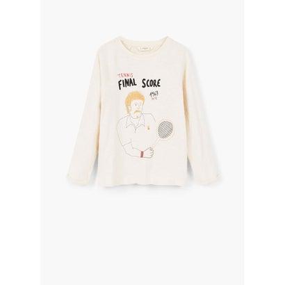 Tシャツ .-- TENNIS (ナチュラルホワイト)
