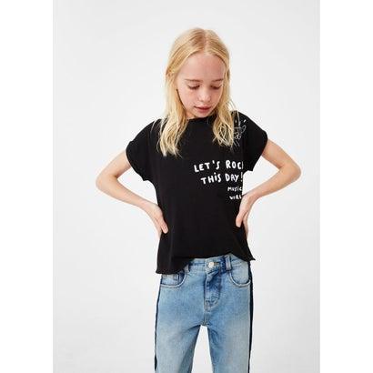 Tシャツ .-- PUNKY (ブラック)