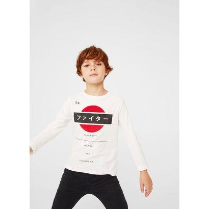 Tシャツ .-- BANDI (ナチュラルホワイト)