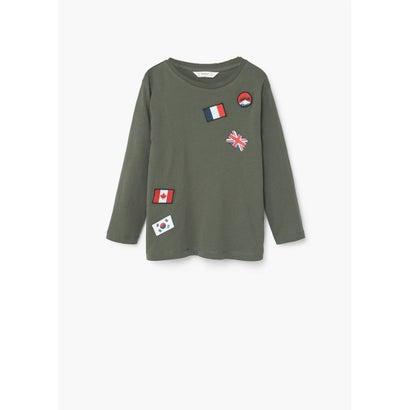 Tシャツ .-- BANDI (ベージュ-カーキ)