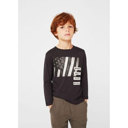 Tシャツ .-- BANDI (ブラック)
