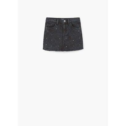 ミニスカート .-- BLACK (オープングレー)