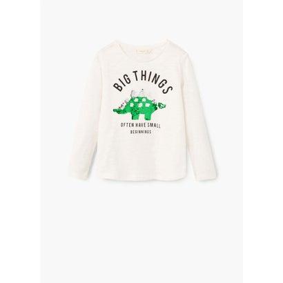 Tシャツ .-- RUDI (ナチュラルホワイト)