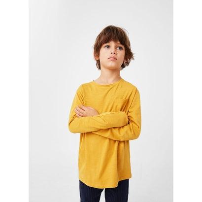 Tシャツ .-- BASIC1 (ミディアムイエロー)