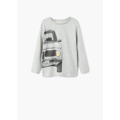 Tシャツ .-- MOTOR (ミディアムグレー)