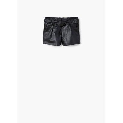 ショートパンツ .-- PAPER (ブラック)