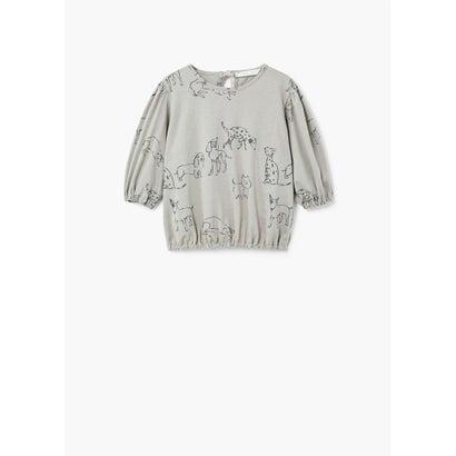 Tシャツ .-- CANINO (ミディアムブラウン)