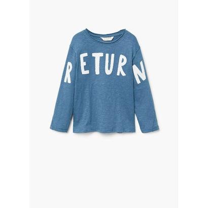 Tシャツ .-- JULIUS (ミディアムブルー)