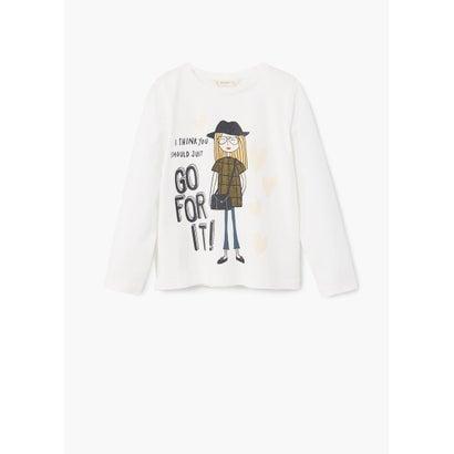Tシャツ .-- DOLLS (ナチュラルホワイト)