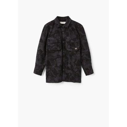 オーバーシャツ .-- ALEX (ブラック)
