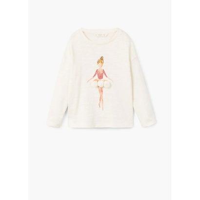 Tシャツ .-- TUTU (ライトベージュ)