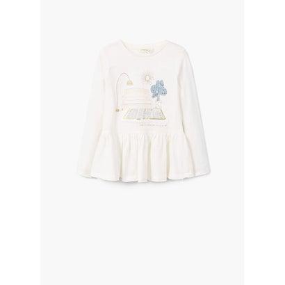 Tシャツ .-- VIO (ナチュラルホワイト)