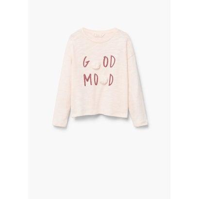 Tシャツ .-- MOOD (パステルピンク)
