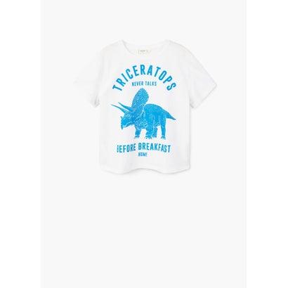 Tシャツ .-- DINO (ナチュラルホワイト)