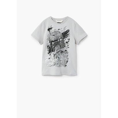 Tシャツ .-- WARS (グレー)