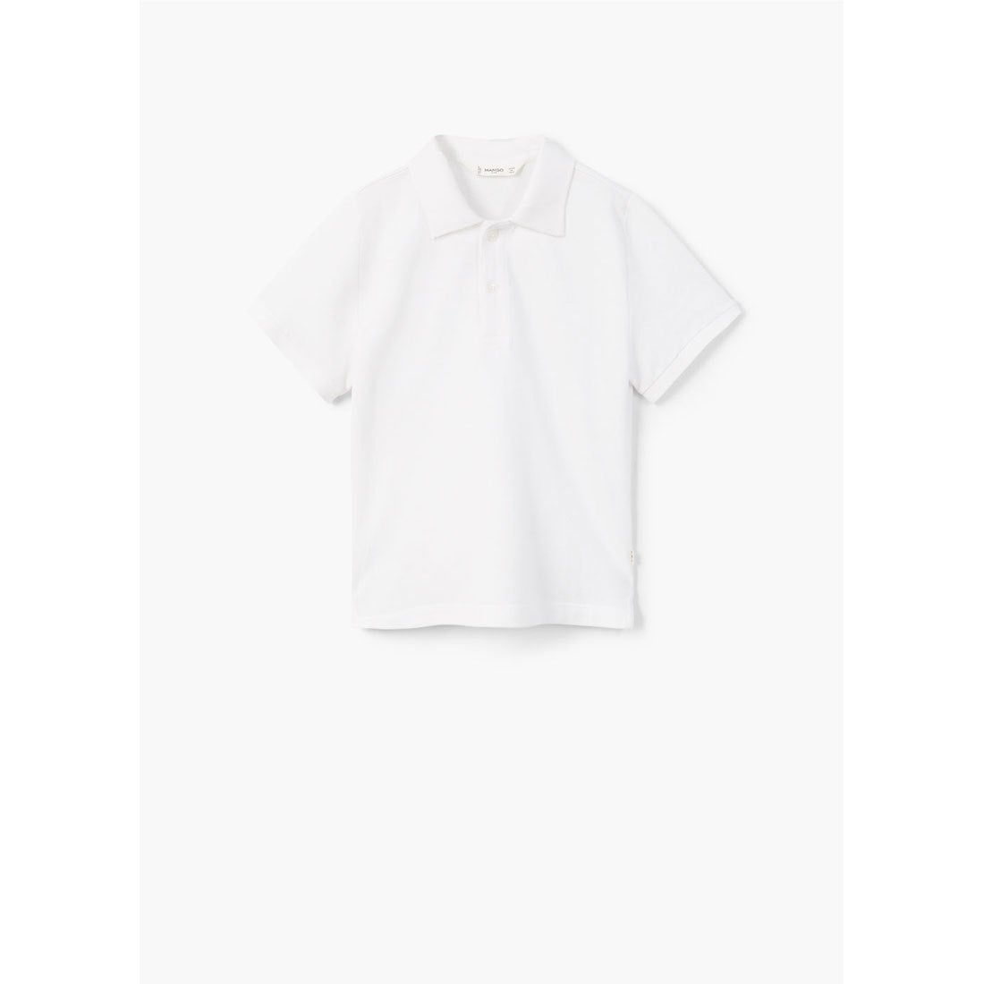 ポロシャツ .-- POLO (ホワイト) 子供・キッズ MANGO