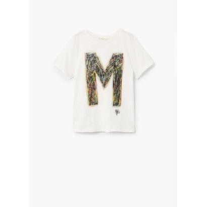 Tシャツ .-- MANGOC (ホワイト)