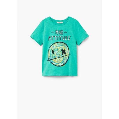 Tシャツ .-- MANGOC (ターコイズブルー)