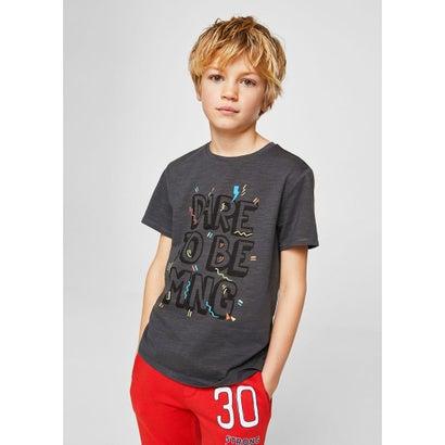 Tシャツ .-- MANGOC (チャコール)