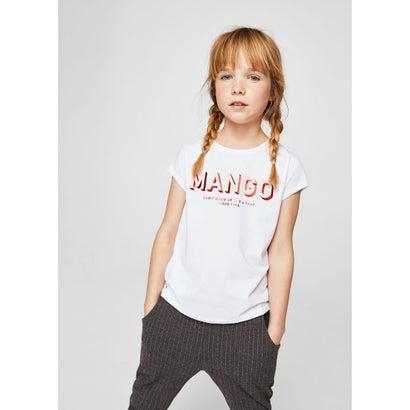 Tシャツ .-- MANGOF2 (ナチュラルホワイト)