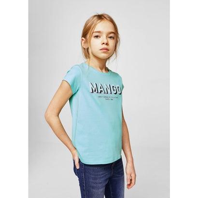Tシャツ .-- MANGOF2 (ターコイズブルー)