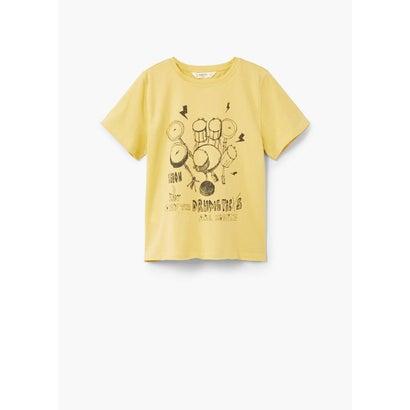 Tシャツ .-- TOUR (イエロー)